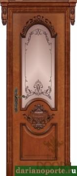 Дверь Эллада стекло - черешня