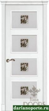 Дверь Фаворит стекло - ясень бланко