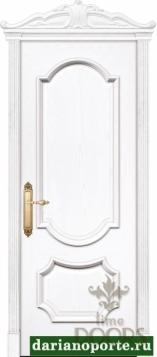 Дверь Женева глухая - ясень бланко