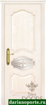 Дверь Марго стекло - дуб