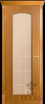 Межкомнатная дверь Глория под стекло