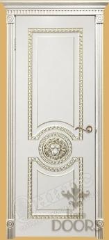 Дверь Цезарь глухая/стекло - 17 цветов