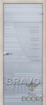 Дверь Грация белое сатинато
