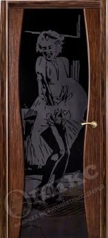 Дверь Грация со стеклом - 27 цветов