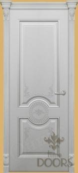 Дверь Лувр глухая/стекло - 17 цветов