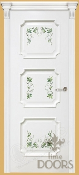 Дверь Валенсия с росписью - 8 цветов