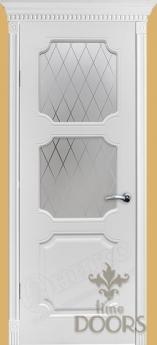 Дверь Валенсия фреза стекло - 15 цветов