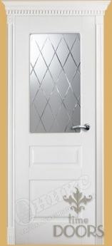 Дверь Версаль фреза стекло - 6 цветов