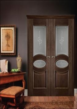 Дверь Распашная Эллипс - 27 цветов