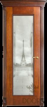 Дверь Александрия 1 стекло - 9 цветов