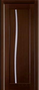 Дверь Соло стекло - венге