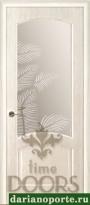Дверь Ривьера стекло - дуб