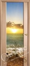 Дверь Престиж с широким стеклом - 27 цветов