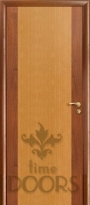 Дверь Комби красное дерево/анегри - глухая