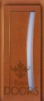 Дверь Вега стекло - миланский орех